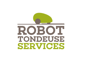logo robot tondeuse services