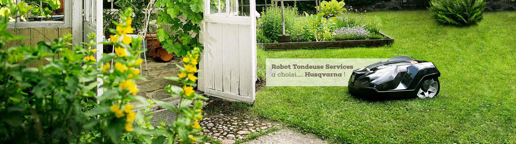 robot tonte pelouse